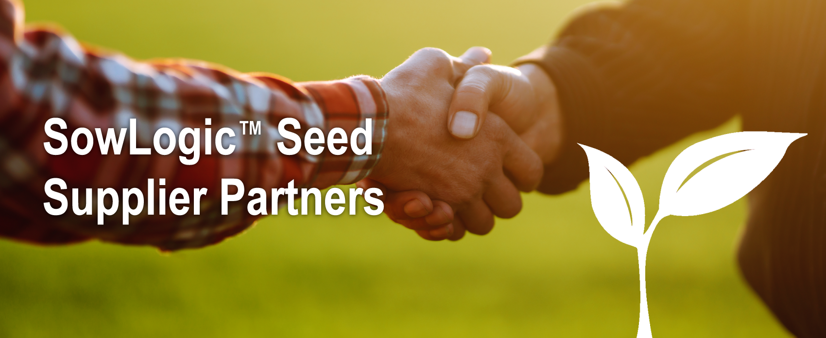 Farmers shaking hands in partnership