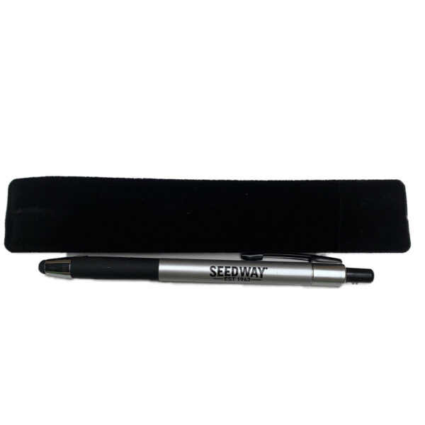 Seedway branded hudson metal pen and case